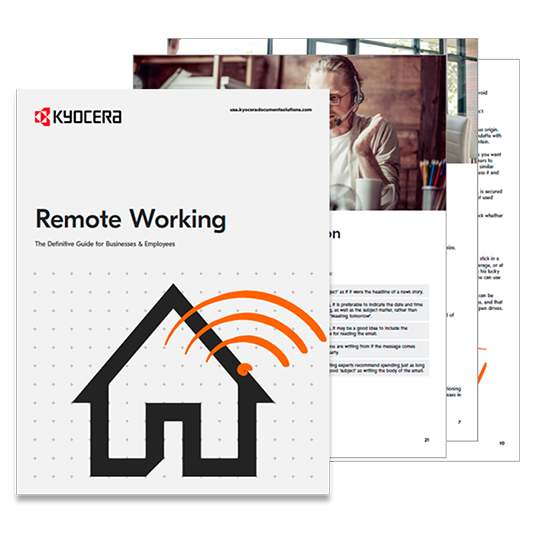 remote working image